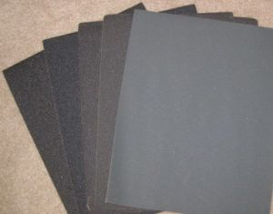 Silicon Carbide Waterproof Sand Paper pictures & photos