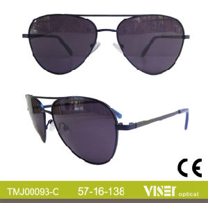 Fashion Metal Sunglasses with New Design (93-A) pictures & photos