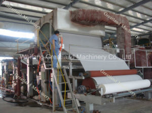 3 Tpd Single Dryer Single Cylinder Toilet Paper Machine pictures & photos