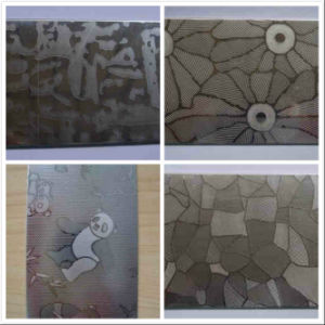 Foshan Antiskid Stainless Steel Plates Emboss Decoration pictures & photos