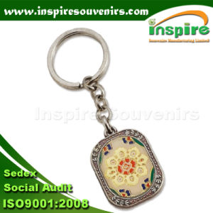 Classic Oil-Filled Souvenir Keychain for Gift (SK502) pictures & photos