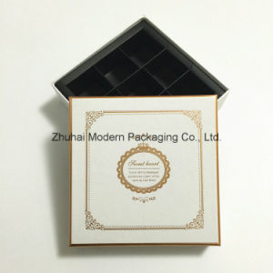 Special Paper Chocolate Packaging Gift Box with Logo Stamping pictures & photos