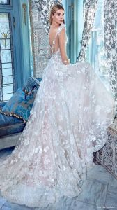 High Quality Elegant White Mermaid off The Shoulder Button Back All Over Lace Designer Bridal Dress Patterns (MN1267)