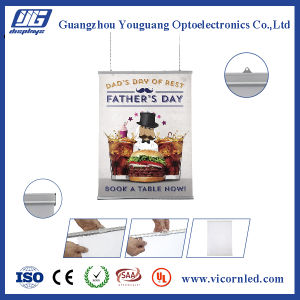Single side Hanging Clamp Poster frame-YS005