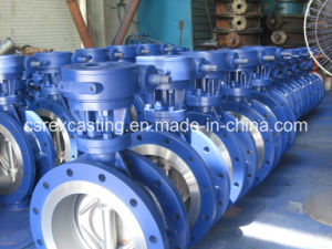 API/DIN/Asme Cast Iron/Ductile Iron Butterfly Valve pictures & photos