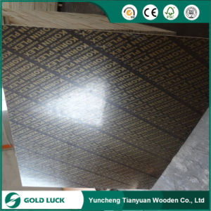 Manufacturer of Phenolic Poplar Core Concrete Film Faced Plywood for Construction pictures & photos