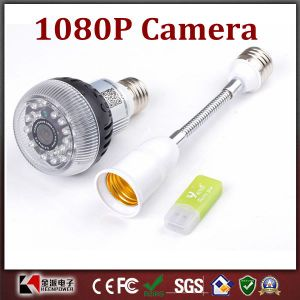 1080P Full HD P2p WiFi Bulb Surveillance Camera for iPhone Controlled pictures & photos