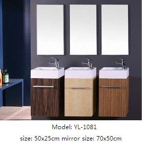 Bathroom Cabinet MDF Vanity with Mirror pictures & photos