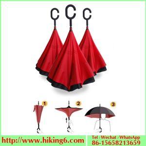 New Design Inverted Umbrella, Reverse Umbrella, Automatic Umbrella pictures & photos