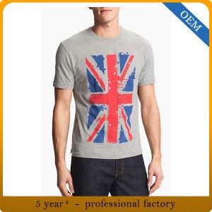 Wholesale Men′s Printed Cotton T-Shirt pictures & photos