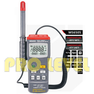 Professional Digital Thermometer and Hygrometer (MS6505) pictures & photos