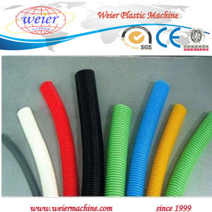 PE PVC Flexible Single Wall Double Wall Corrugated Pipe Plastic Extrusion Machine pictures & photos