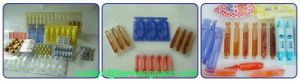 Orange Medical Use Clear Transparent Blue Tone Rigid PVC pictures & photos