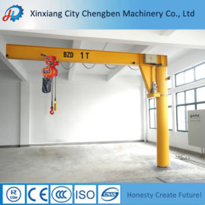 Industry Application Bzd Type Pillar Mounted Jib Crane pictures & photos