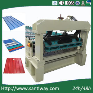 Wall Sheet Cold Roll Forming Machine for USA Stw900 pictures & photos