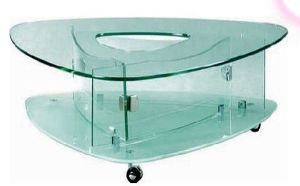 Good Quality Normal Clear Tempered Glass Table Top pictures & photos