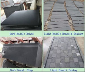 Dark Basalt/Light Basalt/Black Basalt/Hainan Basalt/Bluestone pictures & photos