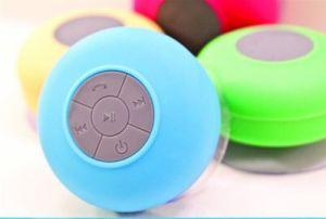 2014 New Portable Waterproof Wireless Bluetooth Speaker Shower Car Handsfree Receive Call & Music Suction Phone Mic