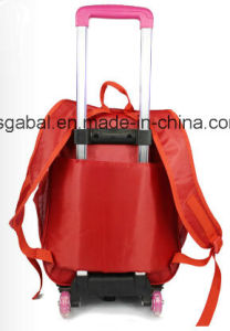 3D Cartoon Removable Trolley Kids Bag pictures & photos