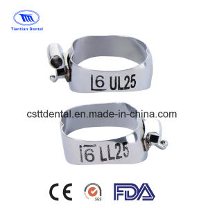 Orthodontic Dental MBT Molar Bands (Double Tubes)