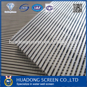 Stainless Steel Water Well Screen Pipe/Johnson Wedge Wire Screen pictures & photos
