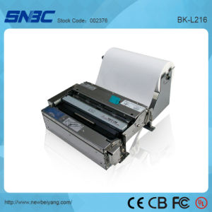 (BK-L216) A4 Serial USB with Presenter Auto Paper Loading Auto Cutter USB Kiosk Thermal Printer