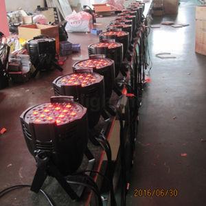 China DMX 512 54X3w RGBW LED PAR Can Light pictures & photos