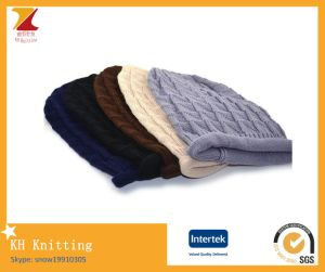 2017 Plain Knitted Beanie Hat pictures & photos