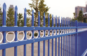Haohan High Quality Elegant Decorative security residential garden Fence 60 pictures & photos