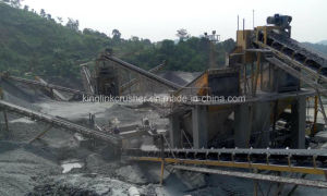 Andesite Stone Crushing and Screening Quarry Plant Aggregate Supplier pictures & photos