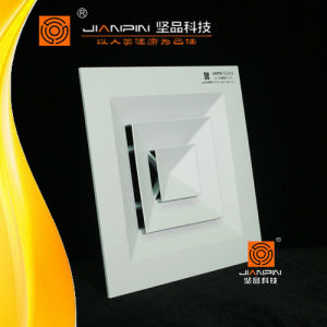 Hot Sale Aluminium Square Ceiling Air Diffuser with Butterfly Damper pictures & photos