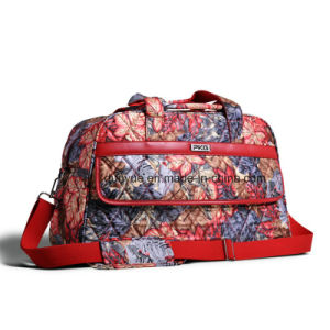 Popular Full Printing Travel Bag, Ladies Casual Luggage Bag, Sport Duffel Bag with Shoulder Belt