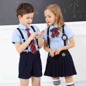 2017 Wholesale Custom Child School Uniform with Dress&Pants pictures & photos
