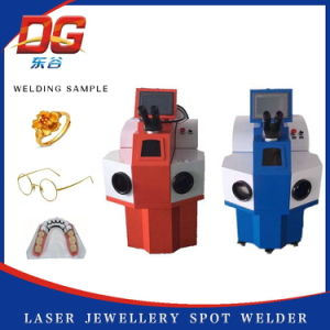 Energy Saving 100W Jewelry Spot Welding Machine with Good Service pictures & photos