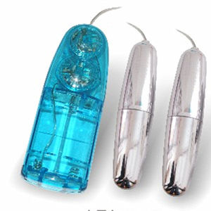 Multifrequency Double Love Egg Vibrator Sex Toys for Ladies pictures & photos