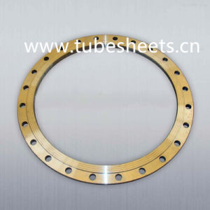 China Factory Brass Alloy Wind Tower Blind Flanges for Heat Exchanger