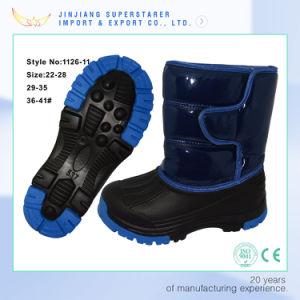 Blue Women Winter Boot, Waterproof Winter Snow Boot pictures & photos
