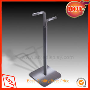 Portable Stainless Steel Garment Display Stand Clothes Hanging Rack pictures & photos