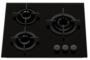 3 Burner Tempered Glass Gas Stove