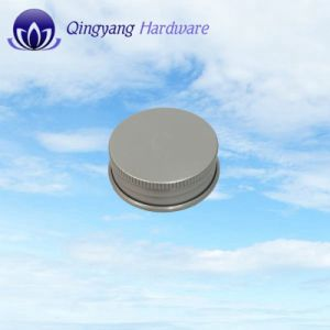 Wholesale Recycled Cylindrical Aluminum Jar Caps pictures & photos