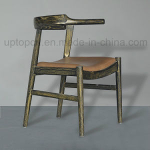 Classical Wooden Structure Restaurant Furniture Chair with PU Leather Upholstery (SP-EC648) pictures & photos