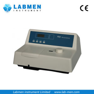 CRT Ultraviolet Visible Spectrophotometer 200-1100nm, 2nm, LCD pictures & photos
