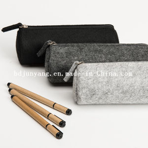 Felt Pencil Bags Wool Pencil Case pictures & photos