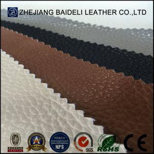 PVC Microfiber Faux Leather for Lady Bag pictures & photos