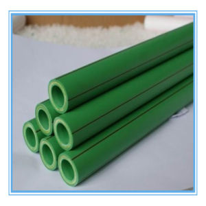 Green PPR Pipe, Pn2.0 Hot Water Supply Water Pipe pictures & photos