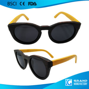 Fancy Shade Designers Replica Cat Eye Wooden Sunglasses pictures & photos