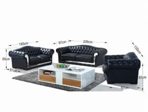 Luxurious Top Grade Genuine Leather Sofa (SBL-9161) pictures & photos