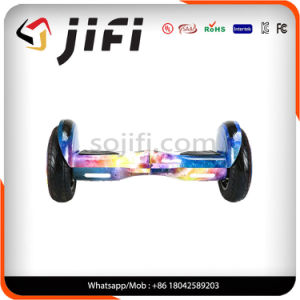 10′′ Pneumatic Tyre Water Transfer Printing Hoverboard pictures & photos