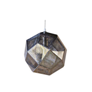 Dome Shape Hammered Semi-Flush Silver Grey Color Pendant Lighting Oz-Al647 pictures & photos
