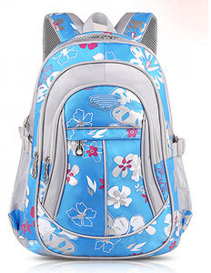 Pupli School Bag Fashion Floral Bag Children Shoulder School Bag Yf-Sb1630 pictures & photos